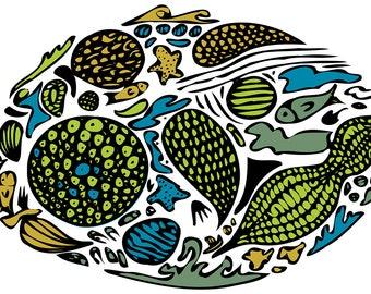 The marine circle of life