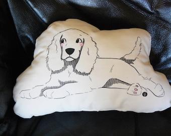 Solidarity Cushion Dog Colicker