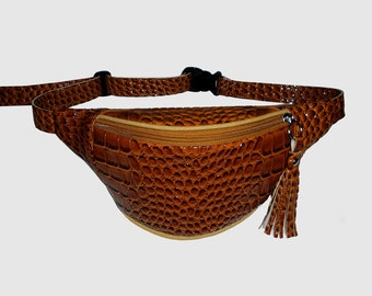 Brown fanny pack /Festival fanny pack/fanny pack/Hip Bags/belt bag/bum bag/waist bag/fanny pack festival/crossbody bag/belt bag/buy3get1free