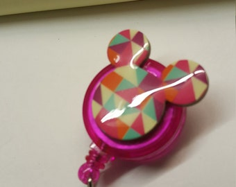 Mickey mouse Badge holder..