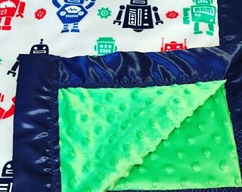 Custom nursery soft luxe blankets