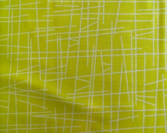 Pick up Sticks by Kim Schaefer for Andover Fabrics Chartruese V1