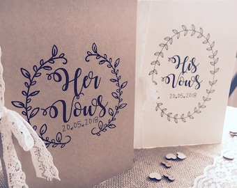 Gorgeous Vintage Inspired Wedding Vows covers