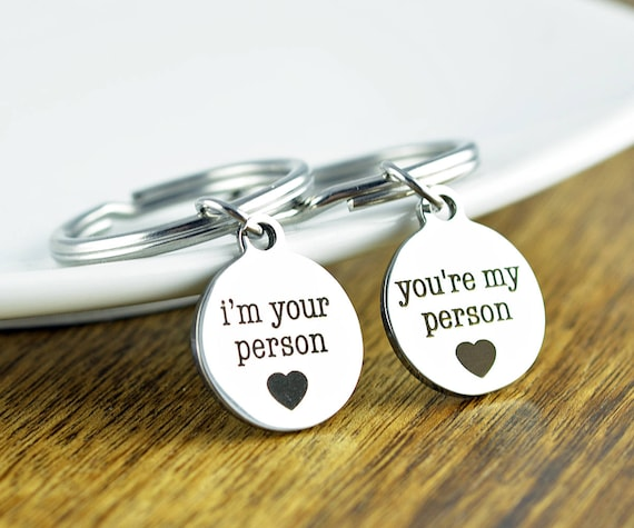 You're My Person Best Friends Key Chains