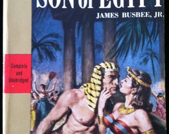 Vintage Paperback Avon AT64 Son of Egypt by James Busbee, Jr. 1953 NM Unread