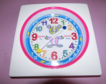 Learn How To TELL TIME Wall Clock the Easy Way!