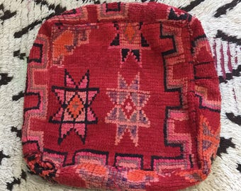 Handmade Moroccan berber Pouf