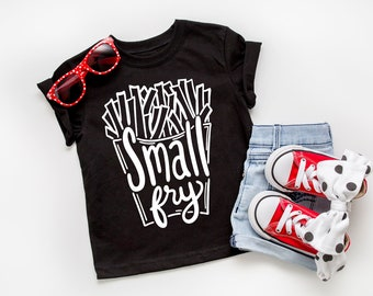 Small Fry Kids Tee, Small Fry Tee, French Fries Shirt, Toddler Shirts, baby Shirts, Gifts For Kids, Kids Graphic Tees, Graphic Tees,