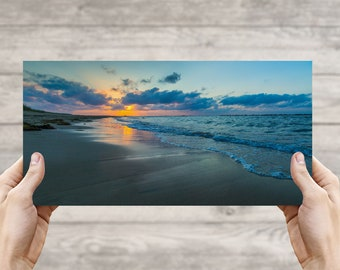 East Beach Sunset, Norfolk VA, Fine Art Photographic Print, Photo, Beach Photography, Canvas Print, Art, Photo Art, Sunset, Beach Life #4