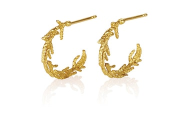 solid gold hoop earrings, 14k gold earrings, hoops earrings, 14k solid gold earrings, 14k yellow gold earrings