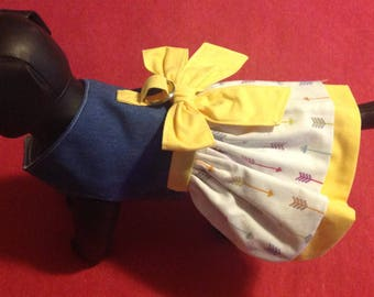 Dog dress, dog coat, dog clothes, puppy clothes, puppy dress, puppy coat