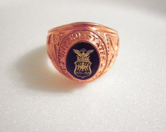1 U.S. Air Force Military Ring Size 10