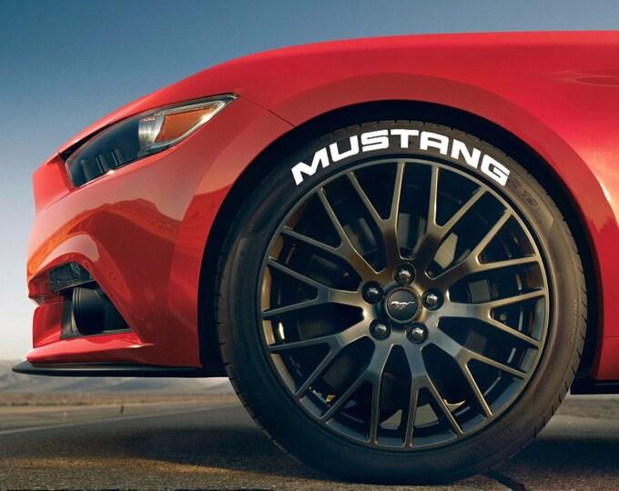 Mustang Ford Tire Bomb Stencils JDM Lettering Track RWB Idlers Evo STI Type-R Stance