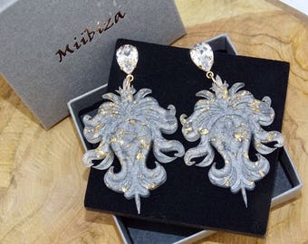 Medusa sparkling silver