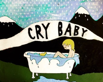 Crybaby - Limited Edition Giclee Print