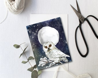 A set of 12 Full Moon ritual cards