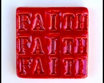 RED FAITH Tile