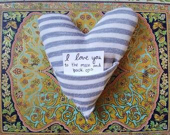 Heart Pocket Pillow