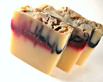 Vampire Soap - Cold Process Soap - Bar Soap - Palm Oil Free - Bite Me Soap - Phthalate Free Fragrance - Fruit Punch Scent