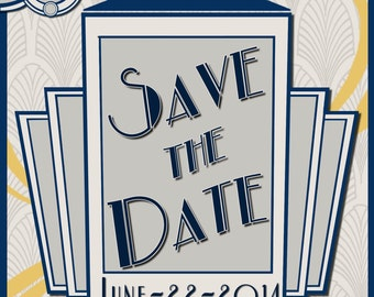 Doctor Who Save the Date