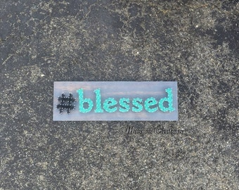 Hashtag Blessed String Art Sign | MADE TO ORDER