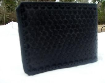 Hand Tooled Leather Billfold/Walleet
