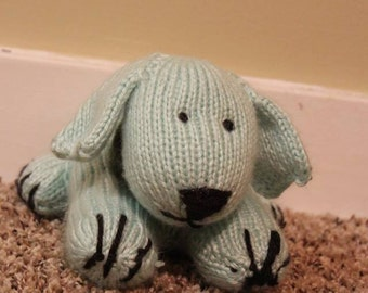 Custom Knit Dog For Charity