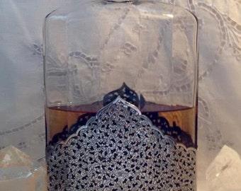 Louis-Toussaint Piver, Pompeïa, 950 ml. or 33 oz. Sterling Silver Clad Flacon, Eau de Parfum, 1907, Paris, France ..