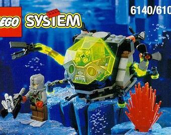 Vintage 1998, LEGO system 6109, Sea Creeper