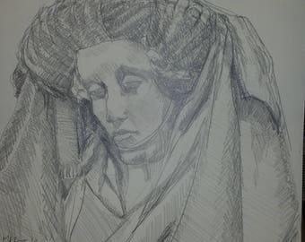 Renaissance Lady in Paris