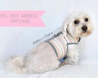 Dog Harness Pattern size XL, Vest Harness, Sewing Pattern, Dog Clothes Pattern, Dog Harness, Dog Vest Pattern