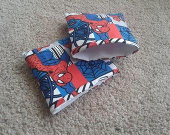 Spider-Man Reusable Snack Bags/reusable ziploc bags