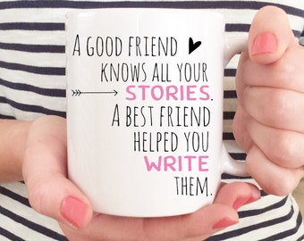 15 oz, BFF, Best Friend Quote, Best friend gift, Black and Gold, Best Friend quote, BFF Mug , Coffee Mug, Sister, best friend Mug