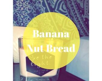 Banana Nut Bread Homemade Candle