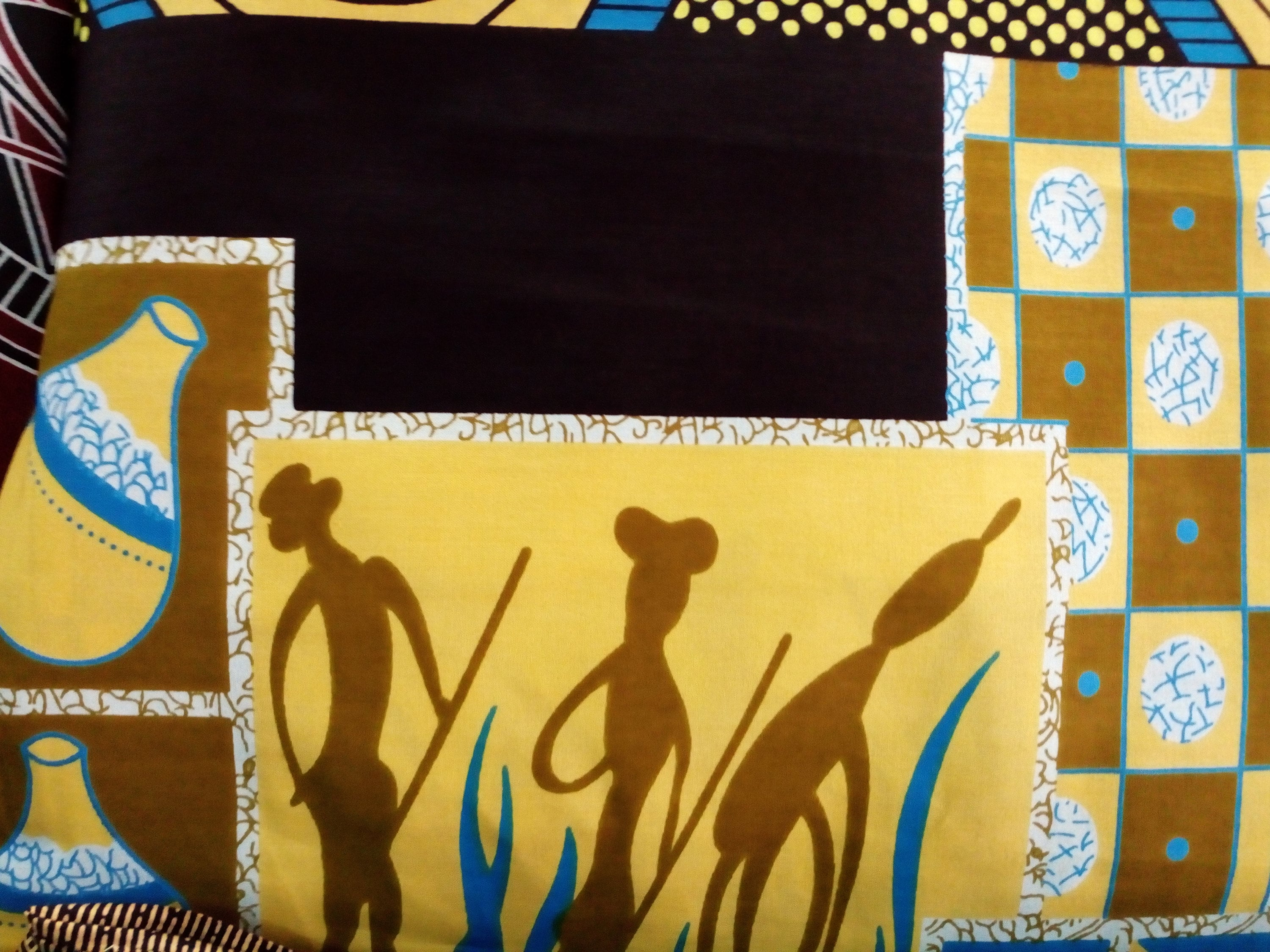 Cave paintings fabric,African fabric,Dress fabric,Pants Fabric ...