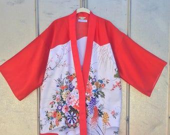 Cherry Red Kimono