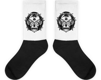 Blitz punk socks
