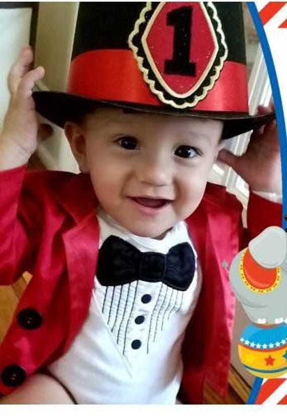 sc 1 st  Etsy & Circus Costume 9 Months to 3T Tuxedo Jacket Fully Lined