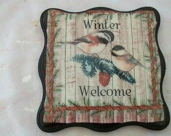 Decorative, decorative table trivet