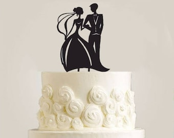 Cake toper married couple