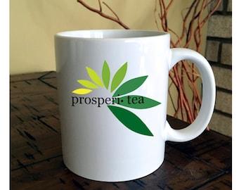 Prosperi Tea Mug, Tea Cup, Tea Lover Gift