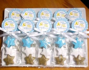 Twinkle Twinkle Little Star Gender Reveal Party - Twinkle Little Star Favors, Baby Shower Favors, Baby Gender Reveal Ideas - Set of 10