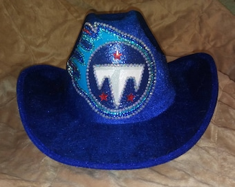 TENNESSEE  TITANS Sparkle and Bling Hat