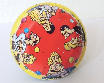 1950s Tin Litho New Years Noise Maker