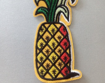 Iron On Patches, Pineapple Iron on Patche, Clothes Decoration tool
