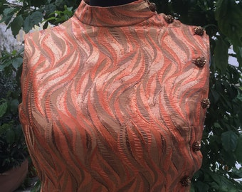 Vintage of the 60's tailored elegant dress