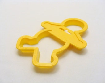 Wilton Yellow Gingerbread Boy Cookie Cutter