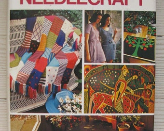 needlecraft book good housekeeping new complete book of needlecraft vintage 1971 hardcover dust jacket