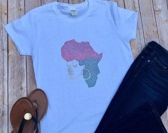 Africa Bling T-shirt