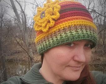 Sunny Rings Hat Crochet Pattern